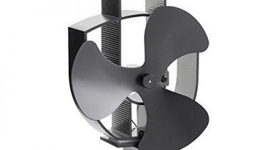 vonhaus w rmebetriebener herdventilator f r holzofen mit 3. Black Bedroom Furniture Sets. Home Design Ideas