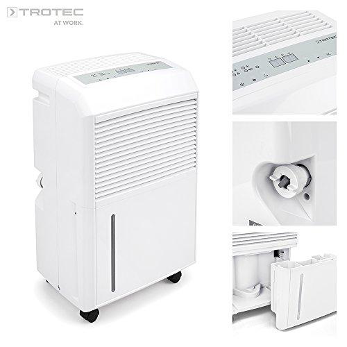 Luftentfeuchter leiser Raumentfeuchter Dampf Timer 16L für Schlafzimmer