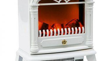 flieks elektrischer kamin mit heizl fter und kaminfeuer effekt 1900w elektro elektrischer kamin. Black Bedroom Furniture Sets. Home Design Ideas