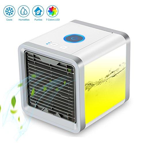 luftk hler mini klimaanlage ventilator air cooler mit wasserk hlung zimmer verdunstungs mobil. Black Bedroom Furniture Sets. Home Design Ideas