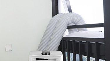 Hoomee 300cm fensterabdichtung für mobile klimageräte klimaanlagen
